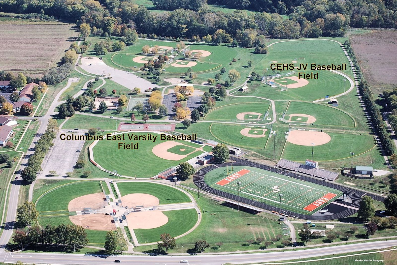 CEHS Upper & Lower Baseball Diamonds
